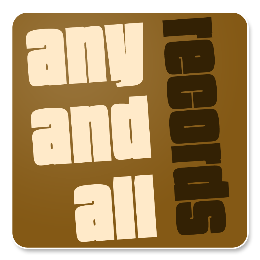 Any And All Records Logo